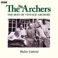 Vintage Archers: Walter Gabriel