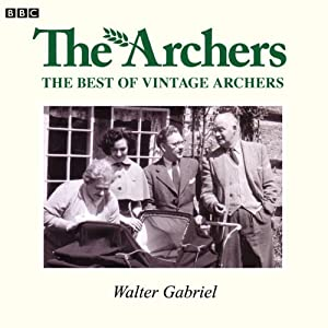 Vintage Archers: Walter Gabriel Radio/TV Program