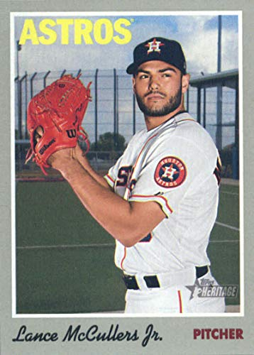 2019 Topps Heritage #113 Lance McCullers Jr. Houston Astros Baseball Card