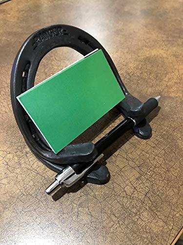 Horseshoe Business Card Holder
