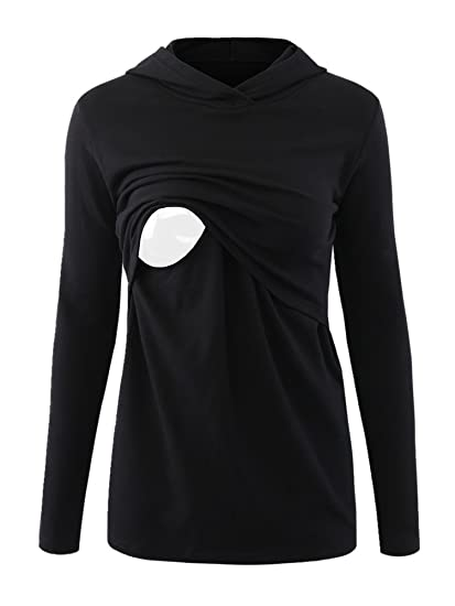 Clothes Design For S | Pinkydot Women S Nursing Hoodie Long Sleeves Casual Top