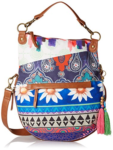 Body Borgona Womens Red Claro Cross Folded Bazar Bag Happy Desigual C17xwHRqSS
