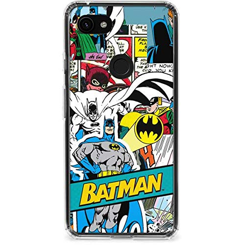 Skinit Batman Comic Book Google Pixel 3a Clear Case - Officially Licensed  Warner Bros Phone Case Clear - Transparent Google Pixel 3a Cover