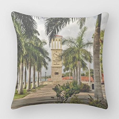 Follies Decorative Throw Pillows St Croix Virgin Islands Vi Pillow Case Square Cover 0069140033361 Books