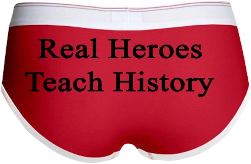 c7f5eb1fd01b CafePress - Real Heroes Teach History Women's Boy Brief - Women's Boy  Brief, Boyshort Panty