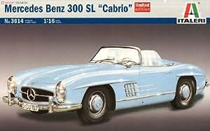 Italeri 510003614 - Maqueta de Mercedes Benz SL300 Cabrio (escala 1:16, edición limitada)