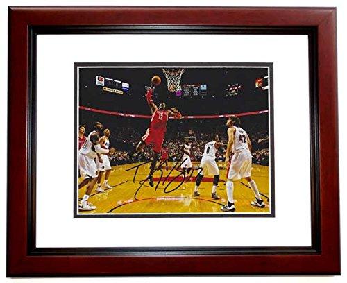 Dwight Howard Signed - Autographed Houston Rockets 8x10 inch Photo MAHOGANY CUSTOM FRAME ()