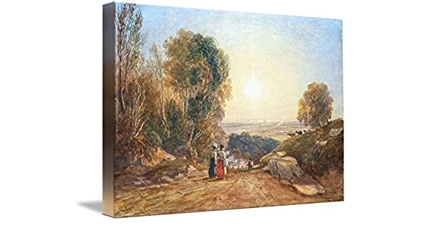 Amazon com: Wall Art Print Entitled David COX SNR - B 1773