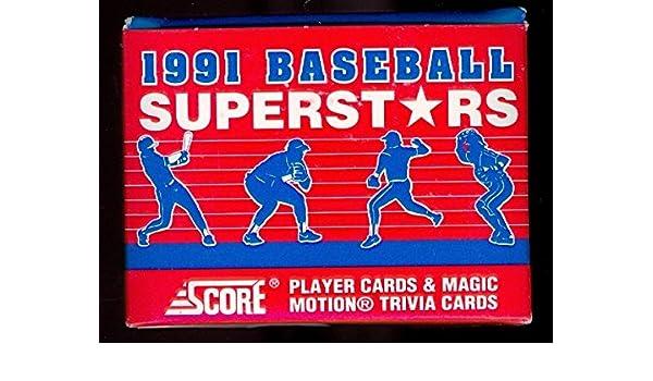 1991 Score Baseball Superstars Complete Box Set Barry Bonds