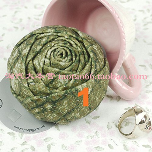 rted Europe and trade original single retro fashion flannel rose corsage brooch large flower hair clip -