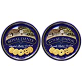 Royal Dansk Cookies Danish Butter 12oz Tin Case Pack 2 by Royal Dansk