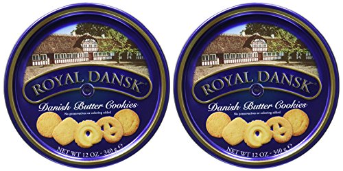 (Royal Dansk Cookies Danish Butter 12oz Tin Case Pack)