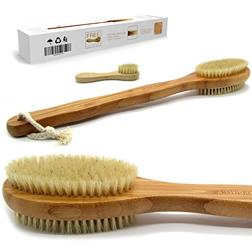 (Bath & Relax Bamboo Bath Brush Long 17