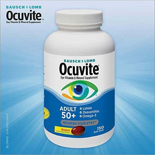 Bausch & Lomb Ocuvite Adult 50+ Eye Vitamin & Mineral