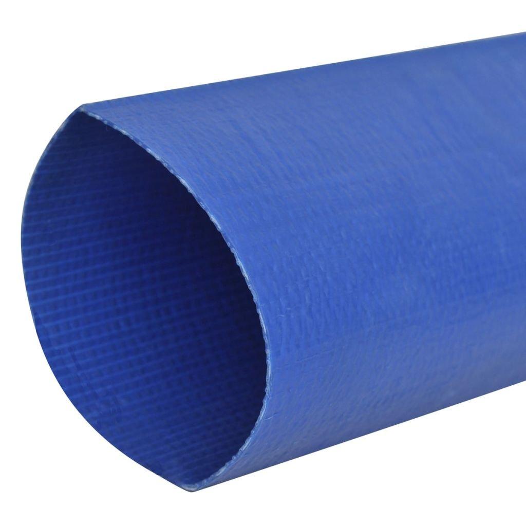 vidaXL Manguera Plana Suministro de Agua de PVC 50 m 2
