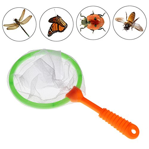 - YiZYiF 6 Pack Kids Butterfly Catcher Bug Insects Catcher Net with Nylon Netting and Floating Handle Baby Children Catching Toys Early Learning Playing Tool