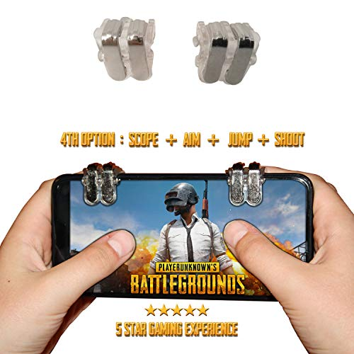 Gaming iPhone. Controllers for Phones iPhones and Android, iOS. [Newest Version] The Best Gaming Controller for Android,iOS.4th Options Scope,Aim,Jump&Shoot ()
