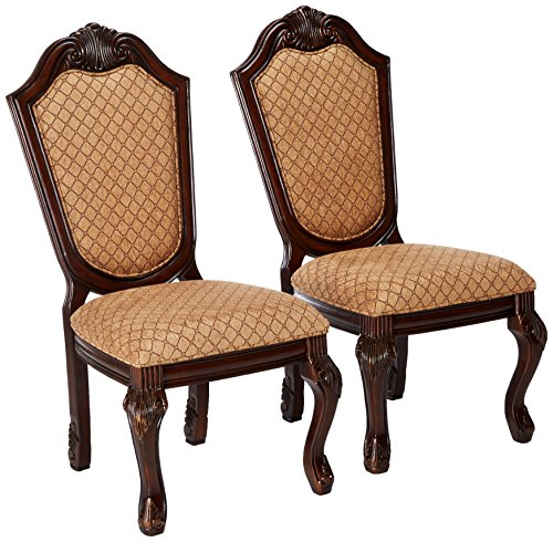 Chateau Dining Chair (ACME Furniture 64077 Chateau de Ville Espresso Side Chair (Set of 2))