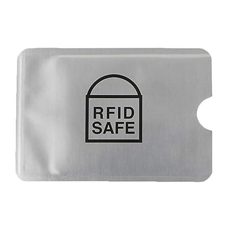 zhoujinf RFID - Funda protectora para lector de bloqueo de ...