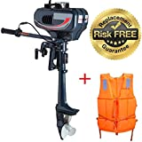 2 Stroke Inflatable Fishing Boat Outboard Motor Boat Engine with Water Cooling System