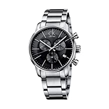 Men's Calvin Klein ck City Chronograph Dress Watch K2G27143