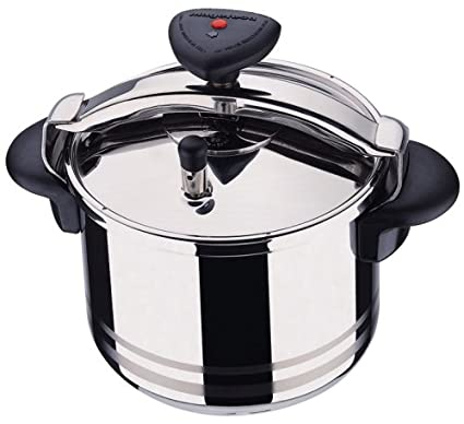 Image Unavailable Not Available For Color Magefesa Star R 8 Quart Stainless Steel Pressure Cooker
