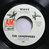 THE SANDPIPERS 45 RPM WAVE / TEMPTATION