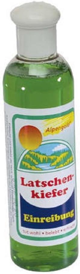 6x de pino carrasco einreibung 250ml en plástico botella con rosca