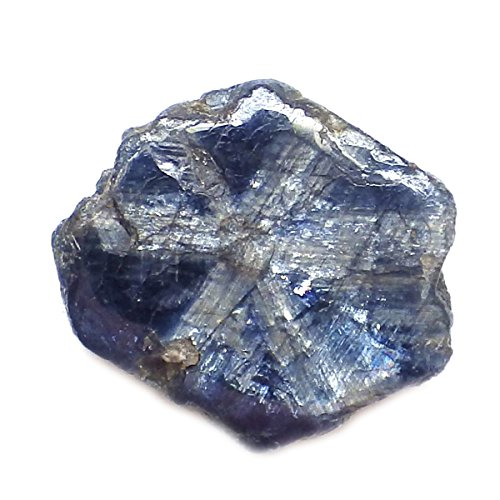 2.27 Ct. Unheated Natural Polish Rough Blue Sapphire Gemstone Specimen by thaigeneration