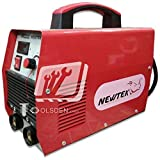 IWELD/NEWTEK Toolsden DC ARC Portable Inverter Welding Machine - Nw-200A Heavy Duty With Cable Connectors 200 Amps (Red:Yellow)