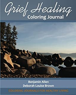 Grief Healing Coloring Journal Journals For Healthy Living
