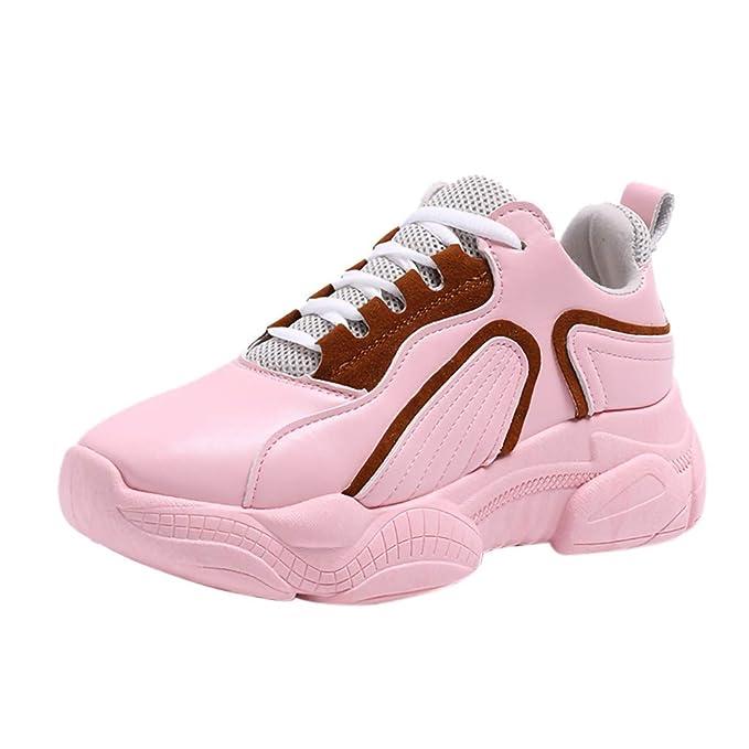 ragazze Rotonda Sneakers Punta Scarpe Bazhahei Casual Donna Eleganti srCdhotQxB