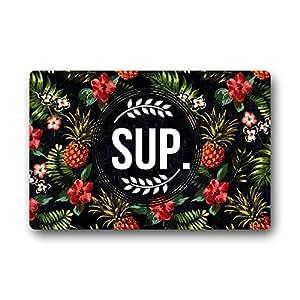 kitchor personalizada Sup patrón Felpudo decoración para el hogar (18x 30cm)