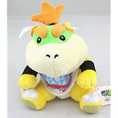 Super Mario Plush 6.9 Inch / 18cm Bowser JR Doll Stuffed Animals Figure Soft Anime Collection Toy: Toys & Games