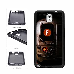 Personalized NYC Train Custom Letter F TPU RUBBER SILICONE Phone Case Back Cover Samsung Galaxy Note III 3 N9002