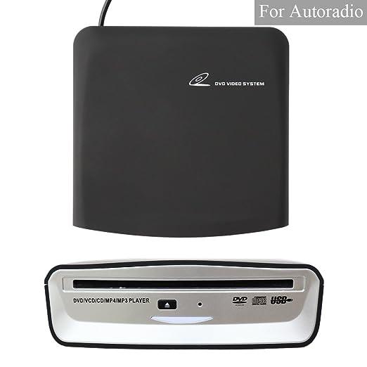 XISEDO Lecteur de DVD Externe Lecteurs DVD Portables Lecteur CD/DVD RW Burner Writer Lecteur DVD ROM Lecteur CD RW/DVD RW/CD RAM/DVD RAM pour Android Autoradio, Laptop, PC, Ordinateur de Bureau