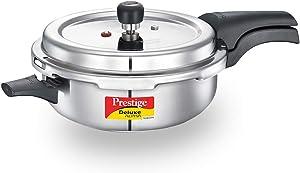 Prestige PRASVSP PRESSURE COOKER, Senior Pan 4L, SILVER