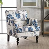 Christopher Knight Home 300439 Boaz Fabric Club Chair, Floral Print