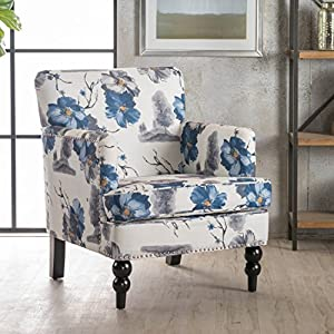 Christopher Knight Home 300439 Boaz Arm Chair, Floral Print
