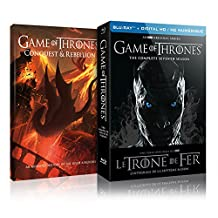 Game of Thrones: Season 7 (Limited Edition with Conquest & Rebellion) [Blu-ray + Digital] (Bilingual)
