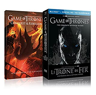 Game of Thrones: Season 7 (Limited Edition with Conquest & Rebellion) [Blu-ray + Digital] (Bilingual) (B074XMV4F2) | Amazon Products