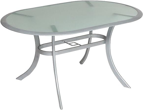 Amazon De Merxx Gartentisch Tisch Carrara Oval