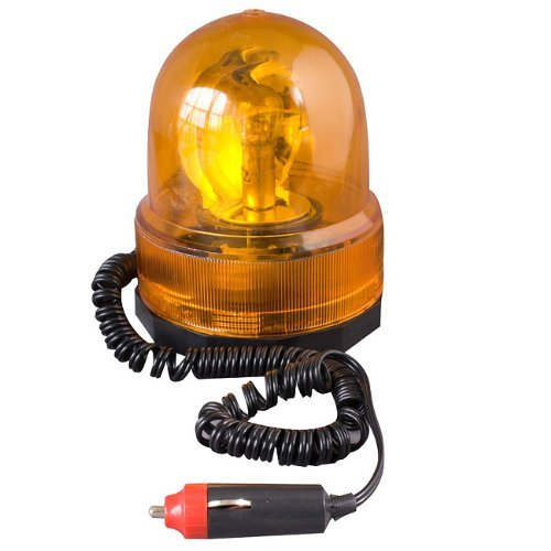 Streetwize SWMBL1 Amber Rotating Beacon  Off Road Use 12 V