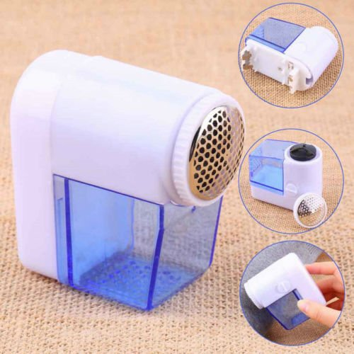VoorShop(TM) Mini Electric Fuzz Cloth Pill Lint Remover Wool Sweater Fabric Shaver Trimmer