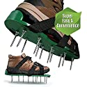 Arudge Garden Lawn Aerator Aerating Sandals/Shoes with Spikes