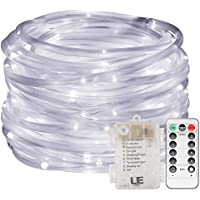 Lighting EVER LE 33ft 120 LED Dimmable Rope Lights (Daylight White)