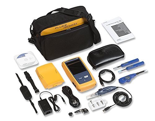 Fluke Networks FI-7000-MPO FiberInspector Pro with MPO tip and cleaning