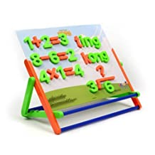 Kids Educational Toys Numbers & Letters Magnetic Boards Set Dual-Purpose