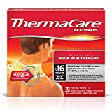 ThermaCare Heatwraps Neck, Shoulder and Wrist, 3 count ( Pack of 3)