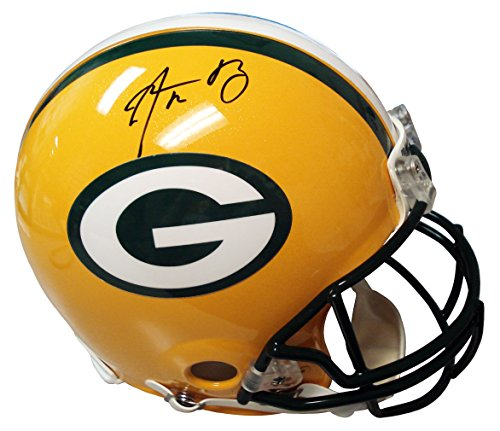 Fanatic Mounted Memories Autographed Aaron Rodgers Proline Green Bay Packers (Mounted Memories Green)